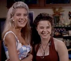 Nikki Witt and Donna Martin Beverly Hills 90210  Like and Follow board for more bh90210 pictures!