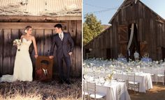 A California Rustic Wedding from ApplemoonPhotography