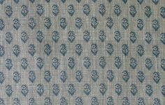 Peter Dunham Pillow Cover Rajmata Tonal in Blue Lumbar