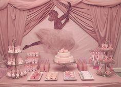 Ballerina Baby Shower Centerpiece | Baby Shower Vintage Ballet