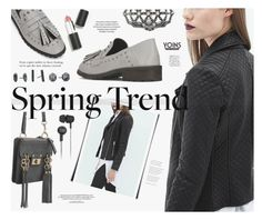 """""""Spring Jacket- Yoins"""" by katarina-blagojevic ❤ liked on Polyvore featuring Rocio, Sigma Beauty, Kendra Scott, Original Penguin and yoins"""