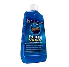 The Meguiar's RV Pure Wax protects your RV against the sun's ultraviolet rays and gives it an extraordinary gloss.