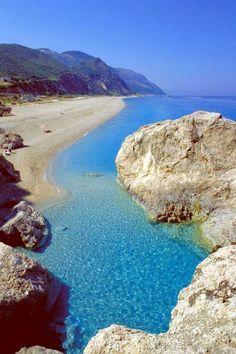 Lefkada Kathisma Greece Amazing Places On Earth Wonderful Places Greece Travel Santorini