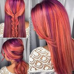 """231 Likes, 5 Comments - Joico Color Intensity (@joicointensity) on Instagram: """" just love this @stylistricardosantiago! Styling/braiding by @wifeofastylist #dreamteam. Stop…"""""""