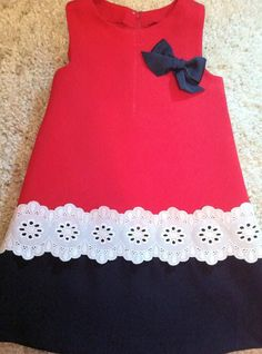 Diy baby girl dress no sew Ideas Little Dresses, Little Girl Dresses, Little Girl Fashion, Kids Fashion, Girls Dresses, Summer Dresses, Toddler Dress, Baby Dress, Dress Anak