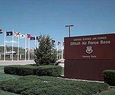 Offutt AFB Nebraska- where I was seven and a half months pregnant traveling in a little truck and thought I was going into labor