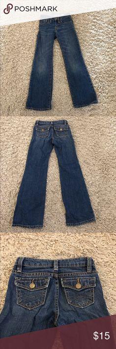 GapKids size 7 slim boot cut jeans GapKids size 7 slim boot cut jeans, adjustable waist GAP Bottoms Jeans