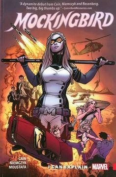 Comics Review: Mockingbird, Vol. 1: I Can Explain. A+ A concentrated dose of the best possible definitions of attitude and snark. #Comics #Superheroes #GenderIssues.