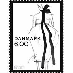 Stamp by Danish Designer Malene Birger - Loved by Yang Denmark House, Denmark House, Postage Stamp Art, Going Postal, Scandinavian Fashion, Picture Blog, Love Stamps, Word Pictures, Malene Birger, Ootd