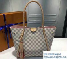 22f9fe813b19 Louis Vuitton Damier Azur Canvas Propriano Bag N44027 2017 Louis Vuitton  2017