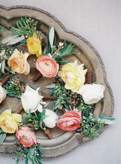 Photography: Jen Huang - JenHuangPhoto.com Florist: JL Designs & Events - jldesignsandevents.com   Read More on SMP: http://www.stylemepretty.com/2016/02/22/rose-gold-blush-wedding-at-the-ojai-valley-inn/