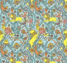 Julia Rothman Pattern repeat tutorial via  Skinny laMinx