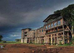 Treetops Hotel, Kenya.