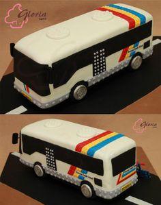 coach bus cake - Google Search