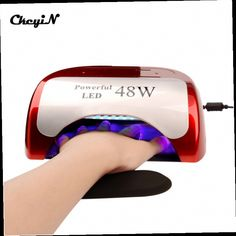48.25$  Buy now - http://alihiw.worldwells.pw/go.php?t=32700893636 - 48W 100-240V LED UV Lamp for Nails Polish Gel Art Professional LED UV Lamp Light Nail Dryer with Auto Induction Timer Setting P