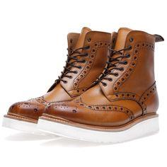Grenson Fred V Boot (Tan)