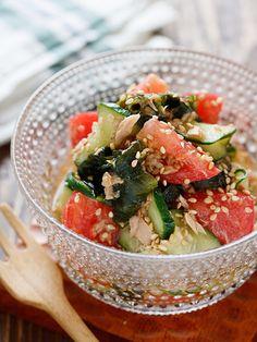 Home Recipes, Asian Recipes, Healthy Recipes, Ethnic Recipes, Japanese Dishes, Japanese Food, Salad Bar, Daily Meals, Food Menu