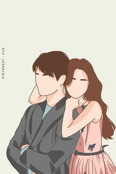 Cute Couple Drawings, Cute Couple Cartoon, Cute Couple Art, Anime Couples Drawings, Cartoon Drawings, Wattpad Cover Template, Cover Wattpad, Boy Illustration, Character Illustration