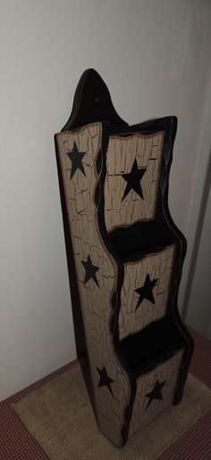Primitive Decor Crackled Mail Holder! So cute! http://www.ebay.com/sch/treasurefinder86/m.html?_nkw=&_armrs=1&_from=&_ipg=&_trksid=p3686