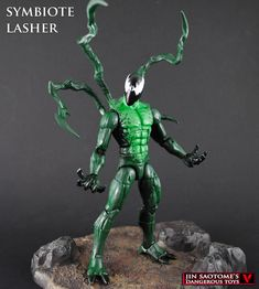 Custom Symbiote Lasher figure by Jin-Saotome on DeviantArt