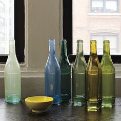 Recycled Glass Vases from West Elm