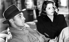 Robert Mitchum and Jane Greer 'Out of the Past'. 1947.