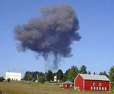 United 93 from Newark bound to San Fransisco, crashed in a field outside of Shanksville, PA. at 10:13 am after a scuffle between hijackers and passengers and crew. United 93 is the only hijacked flight that failed to reach it's intended target that day.