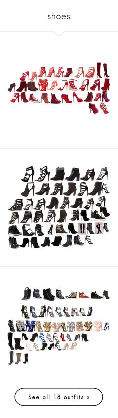 """""""shoes"""" by moree-sabra ❤ liked on Polyvore featuring shoes, pumps, black suede, suede sandals, black strappy stilettos, black high heel sandals, sexy sandals, black strap sandals, heels and peep toe stilettos"""