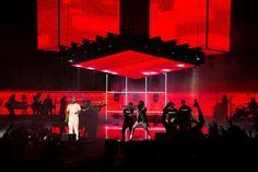 Cassper Nyovest // Fill Up Orlando Stadium on Behance Award Tour, Concert Stage Design, South African Artists, Music Fest, Stage Set, Scenic Design, Stage Lighting, Night Club, Lighting Design