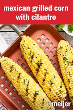 Easy and so tasty. Corn sometimes becomes the perennial summer ho-hum, but this recipe will be the talk of the picnic until every ear is nibbled right down to the cob.