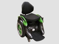Check out the Ogo, a hands-free electric wheelchair: operation is easy, it can be steered with body weight alone, simply by leaning in the direction you want to go.