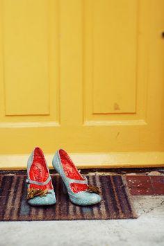 door. I really like the shoes