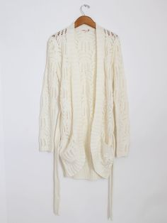 ++ woven knit cardigan