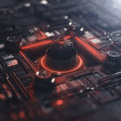 andrewkramer Operation #Element3D with and without DOF!