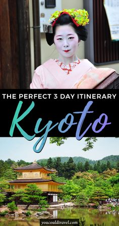 An epic 5 day Kyoto Itinerary - Known as the city of 10000 temples and one of Japan's most beautiful cities, Kyoto is home to zen gardens, imperial palaces, traditional wooden houses and many Shinto shrines. Check out our Kyoto itinerary and find out what to do, what to see and where to go during 5 days in Kyoto. #kyoto #japan #itinerary