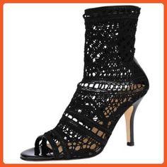 Vince Camuto SIGNATURE PAULETTE BOOTIE BLACK,8 - Boots for women (*Amazon Partner-Link)