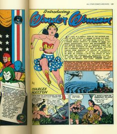 Wonder Woman's no stranger to the printed page, but she's made her way to the Smithsonian Libraries as well. Their Wonder Woman Collection tells the story of her creator, her origin, and her first costume. Star Comics, Dc Comics, American Art, American History, Cultural Significance, Wonder Woman Comic, The Secret History, African Elephant, Print Magazine