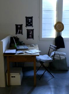 My work space - Deb Beau - Kickcan & Conkers and Plumes & Feathers