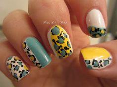 Yello Mint leopard print, right hand! So creative!