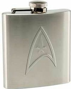 Star Trek - 6 oz. Stainless Steel Flask, New ·