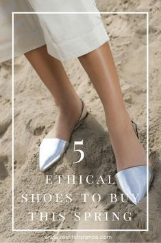 5 ethical shoes that'll put a spring in your step! | restitchstance