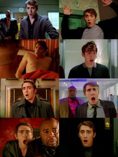 Pushing Daisies - just a few of my favourite shocked Ned faces.
