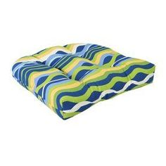Jordan Manufacturing Variations Poolside Texture Standard Patio Chair Cushion