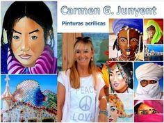 الفنانة التشكيلية الاسبانية كارمن Carmen Junyent Gómez - عالم نوح