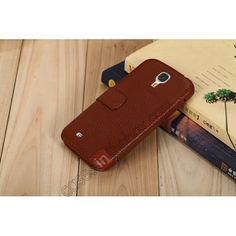 K-cool Genuine Real leather Flip Case Cover For Samsung Galaxy S4 i9500 - Brown US$15.98