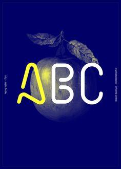 Typeface - Pipo Regular by Benoît Bodhuin, via Behance