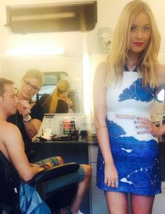 The celebs are all in the jungle and Laura's is totally owning this dress by Fabitoria. No style notes for Joe Swash as he is naked. Fine by us.   -Cosmopolitan.co.uk