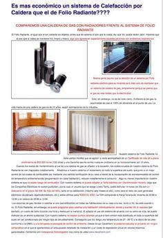 Folio radiante | calefacción | suelo