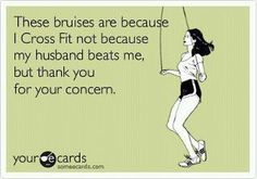 Lol! Yup, thank god my coworkers know that I spar every thursday :)
