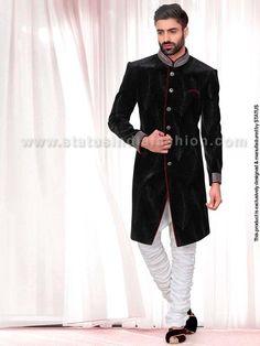 Black-Velvet-Designer-Indowestern-IN172